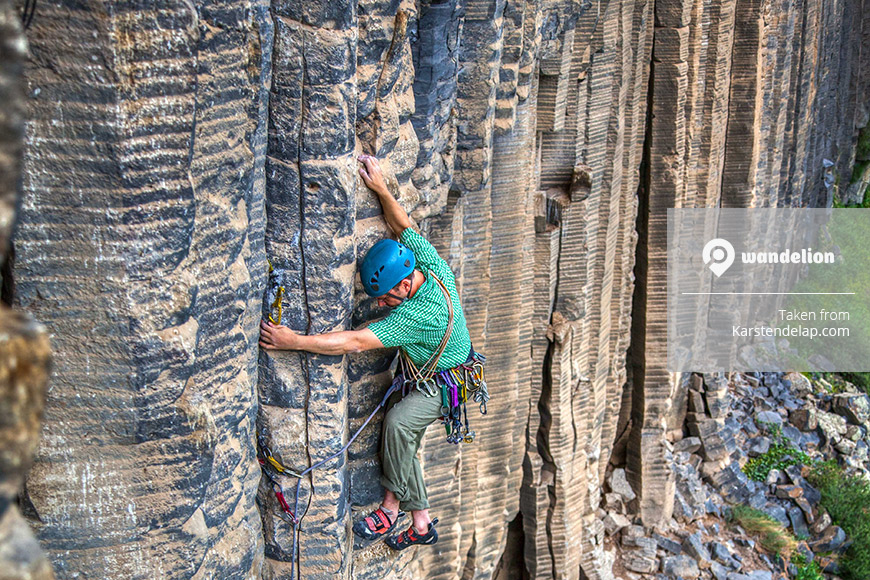 Rockclimbing in Armenia