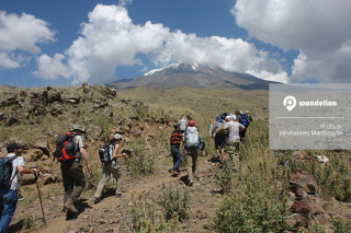Hiking to Ararat