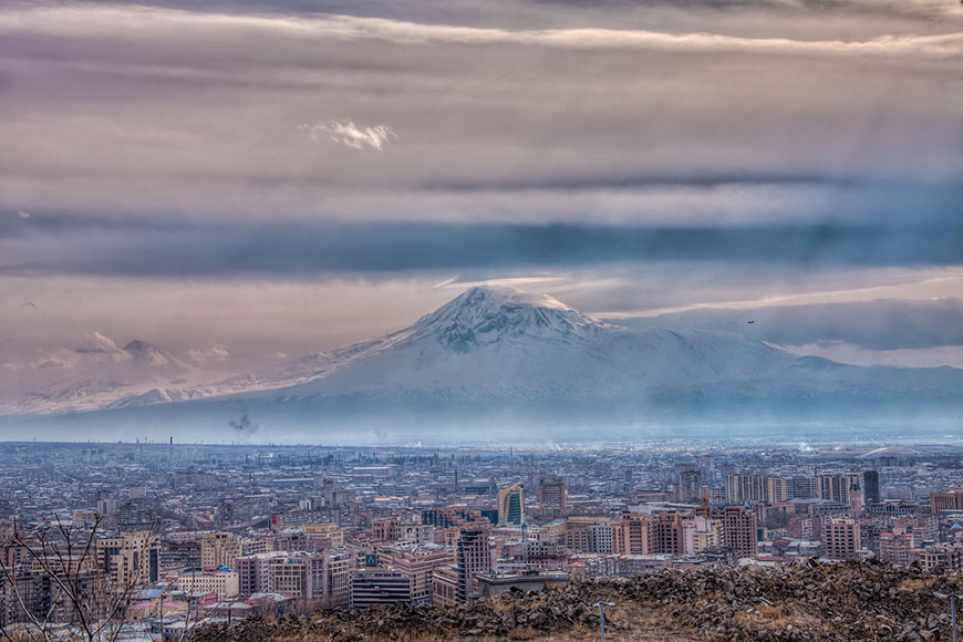 View of Mount Ararat