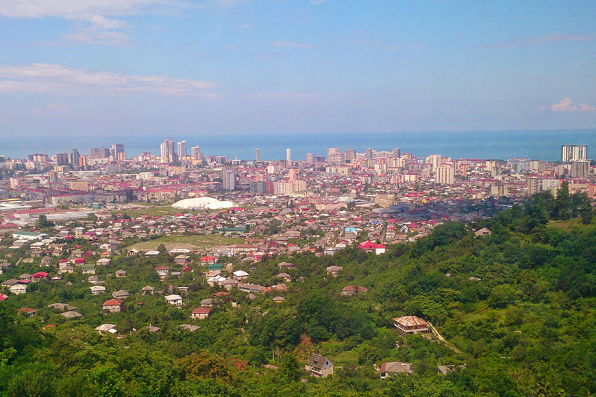 Panoramic view of Batumi