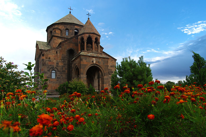 Saint Hripsime Church Etchmiatsin