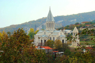 Ghazanchetsots Cathedral Artsakh