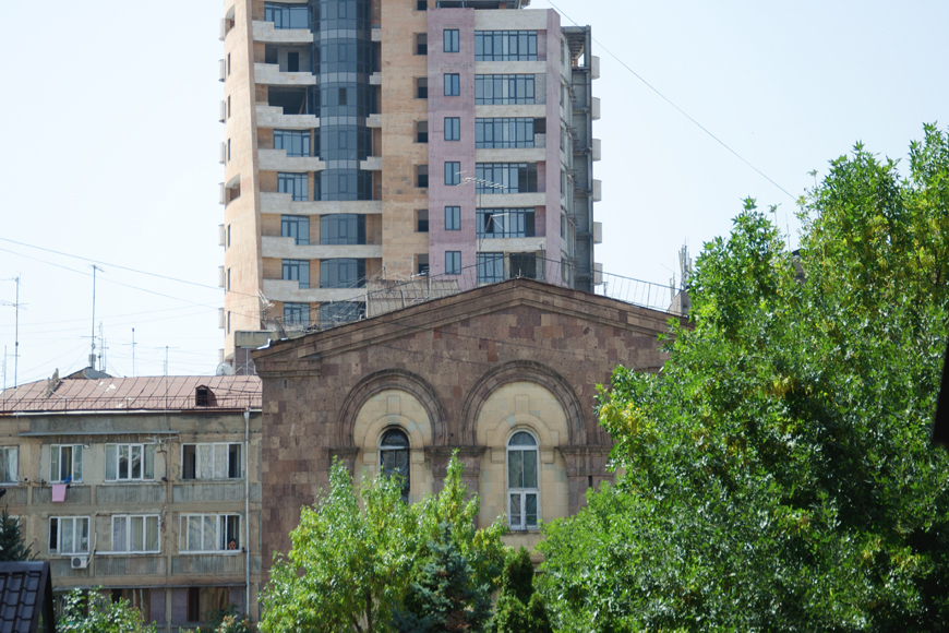 Triple mix architecture Yerevan